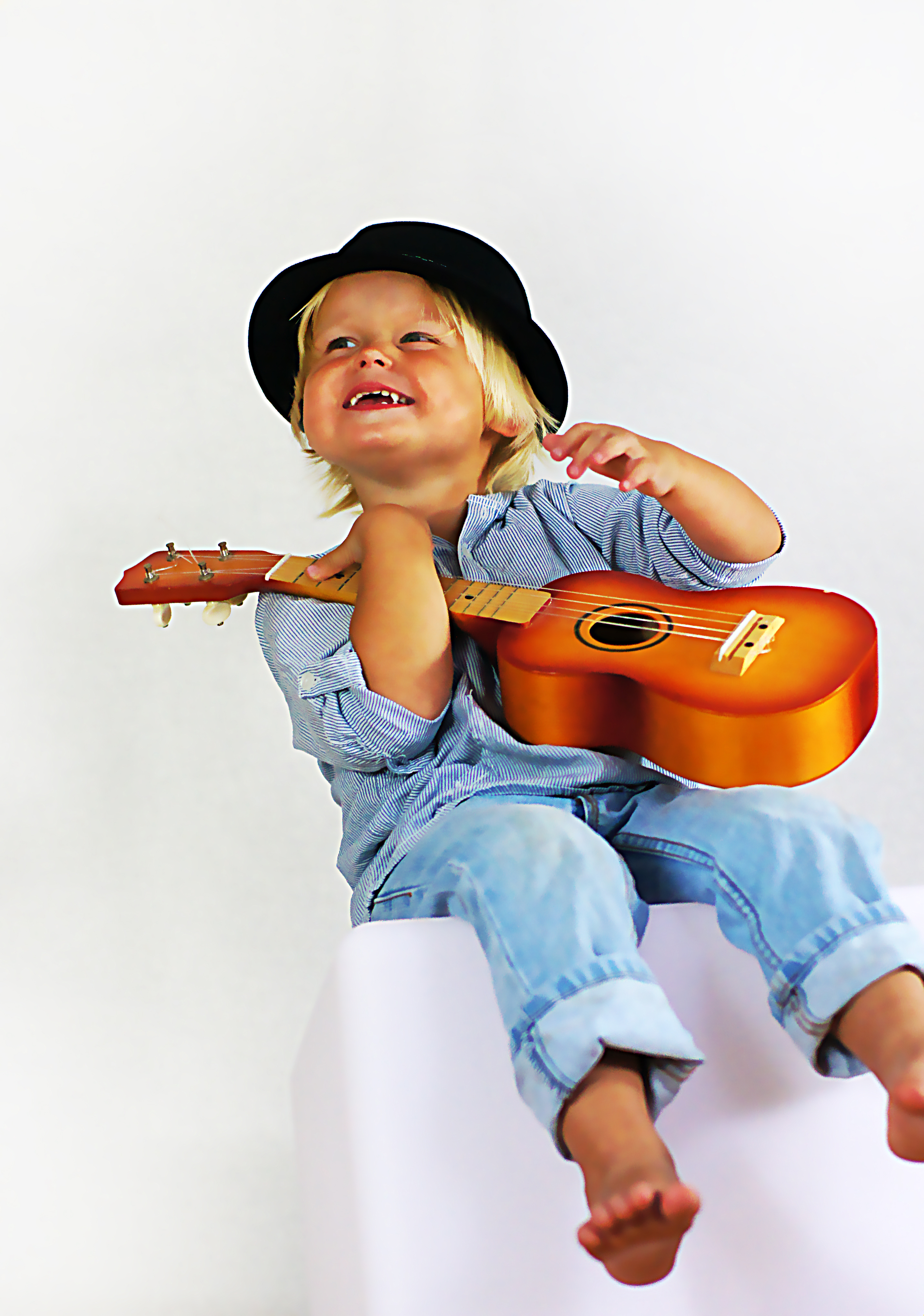 The boy with the ukulele - Der Junge mit der Ukulele